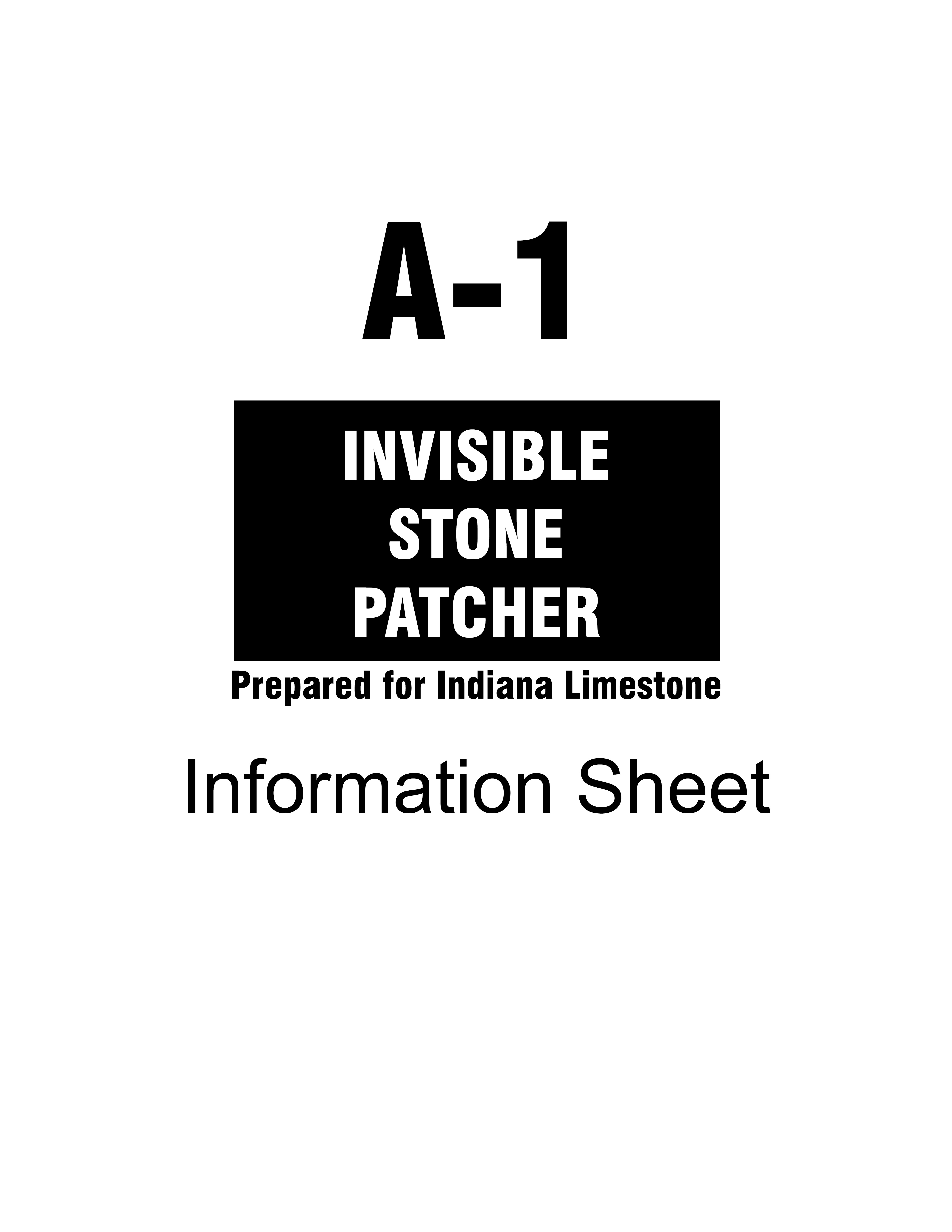 Stone Patch Information Sheet Cover
